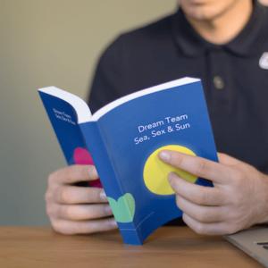 Imprime tus mensajes en un libro